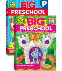 SCHOOL ZONE BIG PRESCHOOL ACTIVITY WORKBOOK