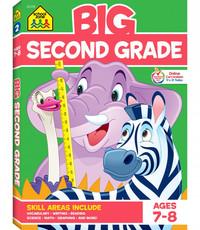 SCHOOL ZONE BIG BOOK SECOND GRADE WORKBOOK