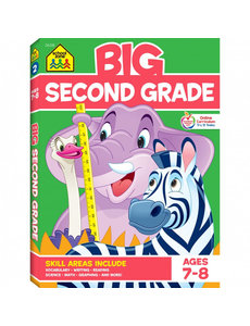 SCHOOL ZONE BIG BOOK SECOND GRADE WORKBOOK