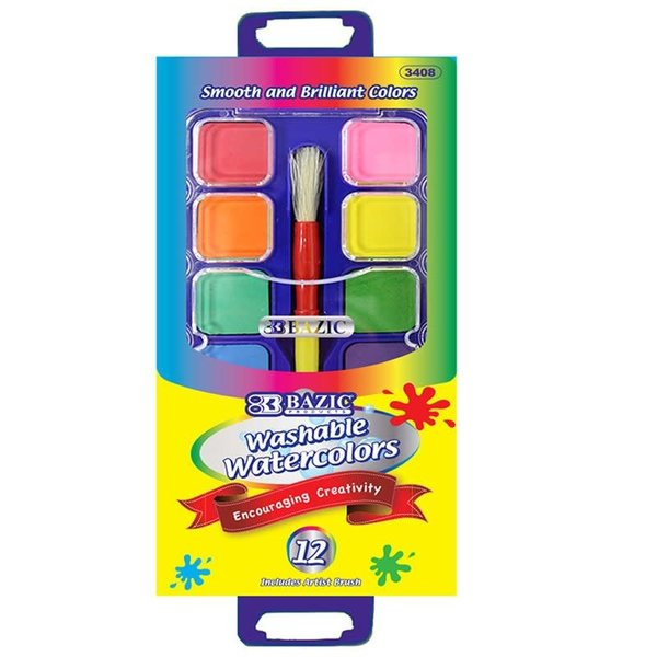 WASHABLE WATERCOLORS 12 PACK