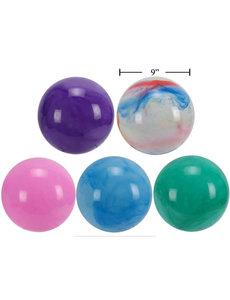 "9"" Marble/Rainbow Playball"
