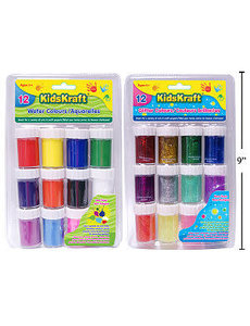 KD.Kr.12-Pc Water Colours Set