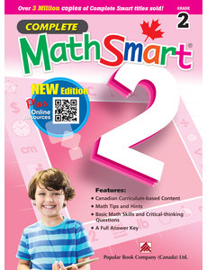 Popular Book Company Complete MathSmart Grade 2