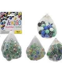 Amigo 50+1 Marbles/Mesh Bag