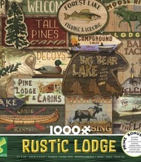 1000 PC RUSTIC LODGE