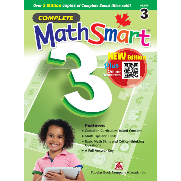 Popular Book Company Complete MathSmart Grade 3