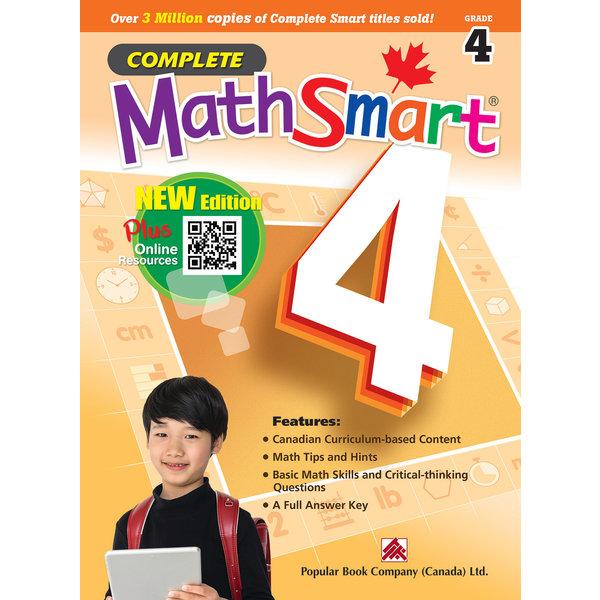 Popular Book Company Complete MathSmart Grade 4
