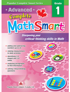 Popular Book Company ADVANCED COMPLETE MATHSMART 1