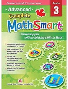 Popular Book Company ADVANCED COMPLETE MATHSMART 3