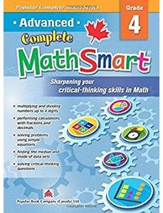 Popular Book Company ADVANCED COMPLETE MATHSMART 4