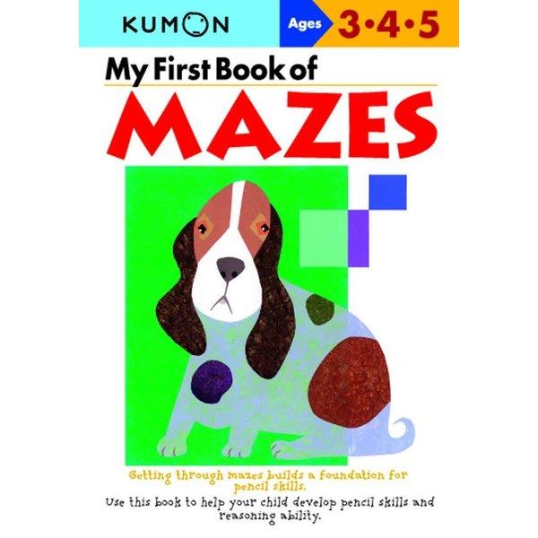 Kumon Publishing KUMON My First Book Of Mazes 345