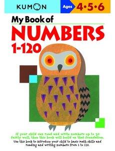 Kumon Publishing Kumon My Book Of Numbers 1-120