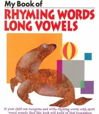 Kumon Publishing KUMON My Book Of Rhyming Words Long Vowels