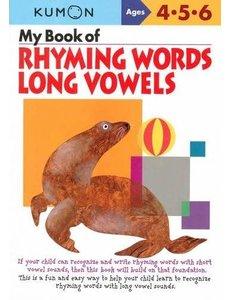 Kumon Publishing KUMON My Book Of Rhyming Words Long Vowels