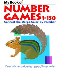 Kumon Publishing KUMON My Book of Number Games 1-150 456