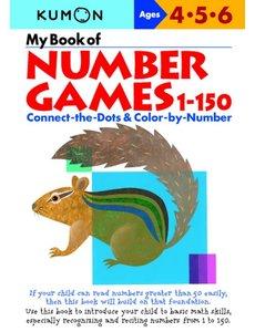 Kumon Publishing KUMON My Book of Number Games 1-150 456