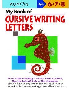 Kumon Publishing KUMON Cursive Writing Letters 678