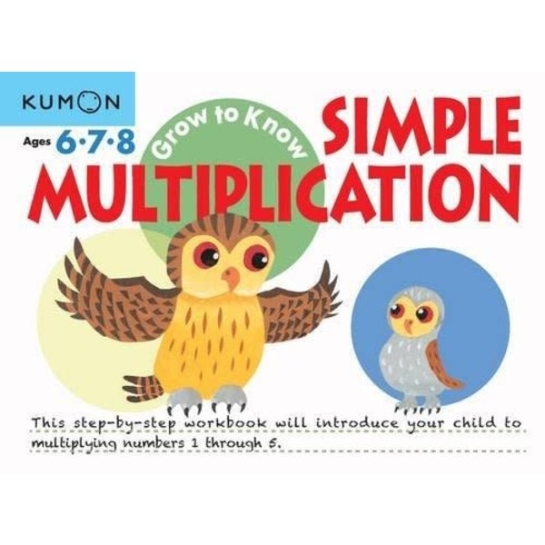 Kumon Publishing KUMON SIMPLE MULTIPLICATION Ages 6-7-8