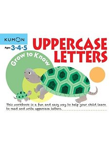 Kumon Publishing KUMON UPPERCASE LETTERS Ages 3-4-5