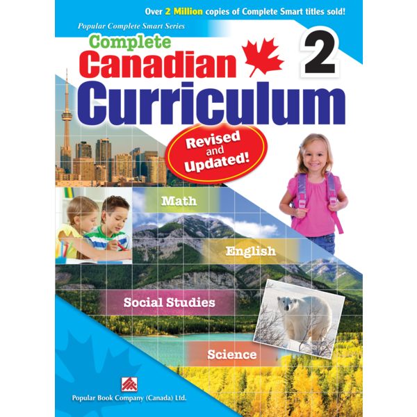 Popular Book Company Canadian Curriculum GR. 2 Revised and Update!