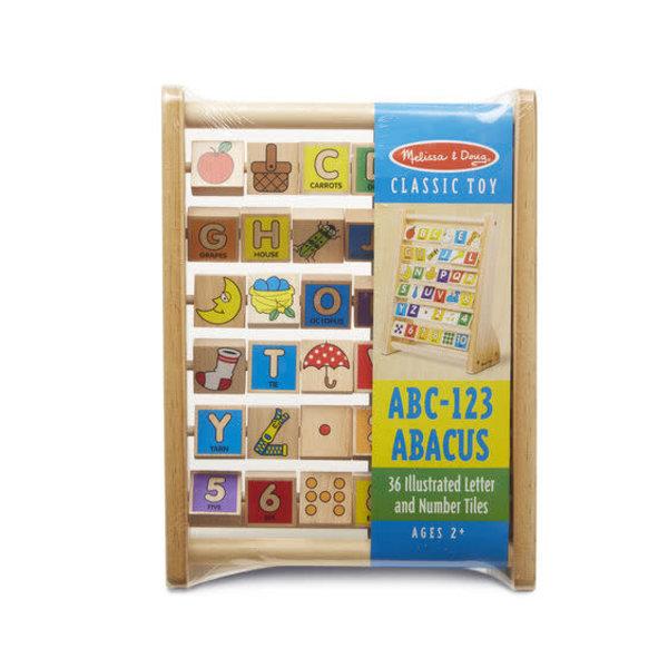 Melissa & Doug M&D ABC-123 Abacus