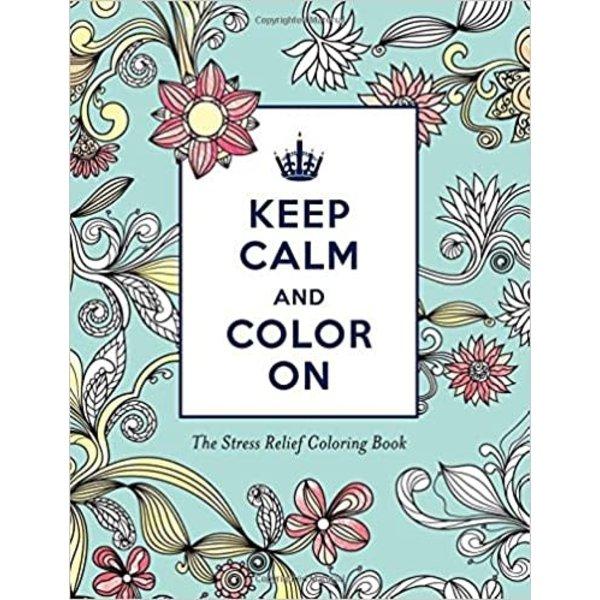 KEEP CALM COLOR STRESS BK