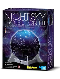 KIDZ LABS 4M CREATE A NIGHT SKY PROJECTOR
