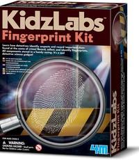 KIDZ LABS 4M DETECTIVE FINGERPRINT KIT