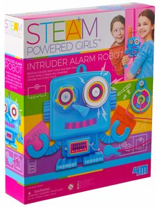 INTRUDER ALARM ROBOT
