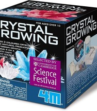 4M GROWING CRYSTAL