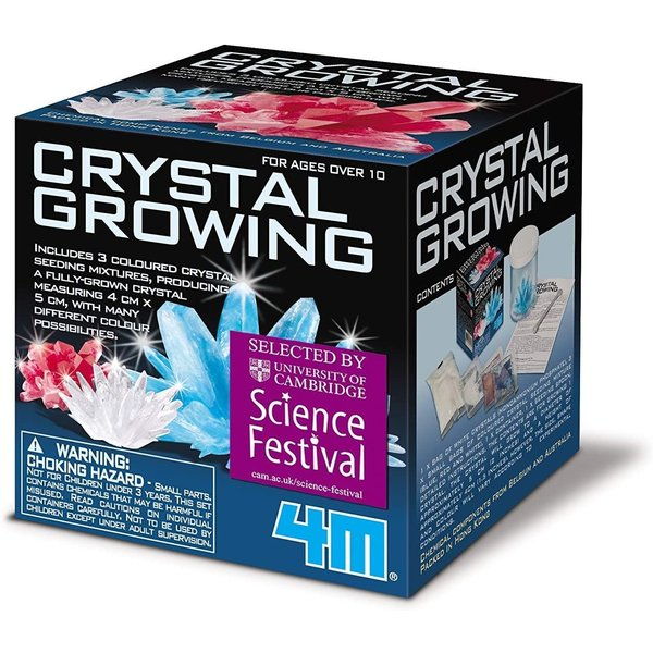 4M GROWING CRYSTAL