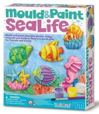 PW SEA LIFE MOULD AND PAINT