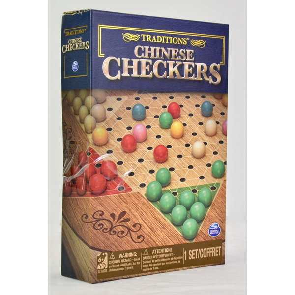 SPIN MASTER CHINESE CHECKERS TRADITIONS