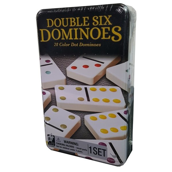 SPIN MASTER DOUBLE 6 DOMINOES TRADITIONS