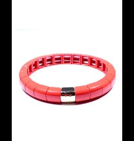 Caryn lawn Tile Tube bracelet