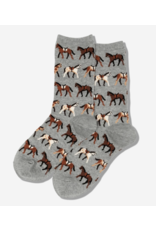 Hot Sox Horse Socks