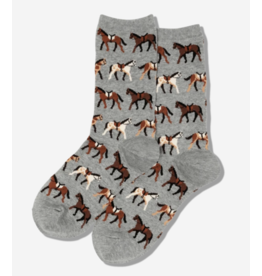 Hot Sox HO2803 Horses