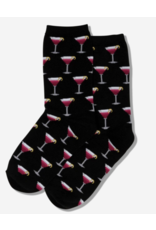 Hot Sox Cosmo Cocktail Socks