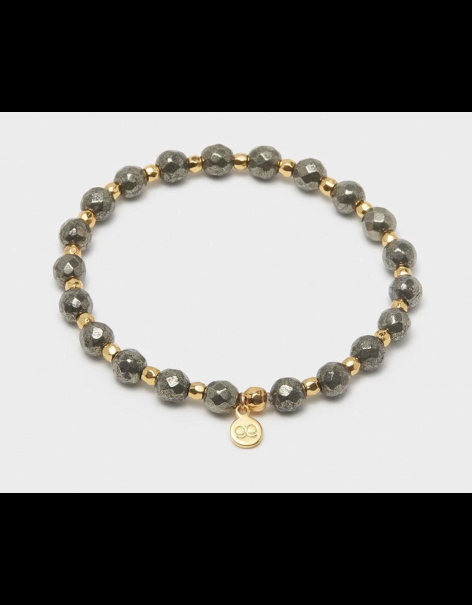 Gorjana Gemstone Bracelets w/Gold
