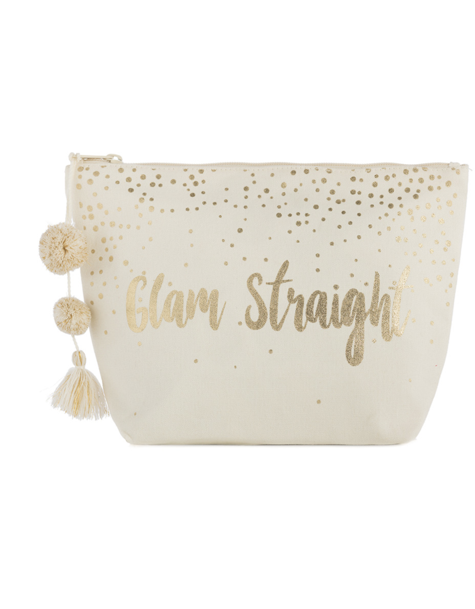 Shiraleah Glam Straight Makeup Pouch