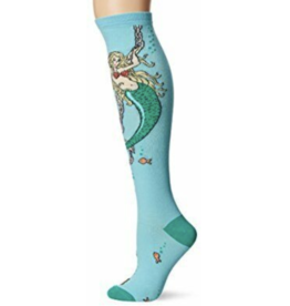 Hot Sox Mermaid -knee hi