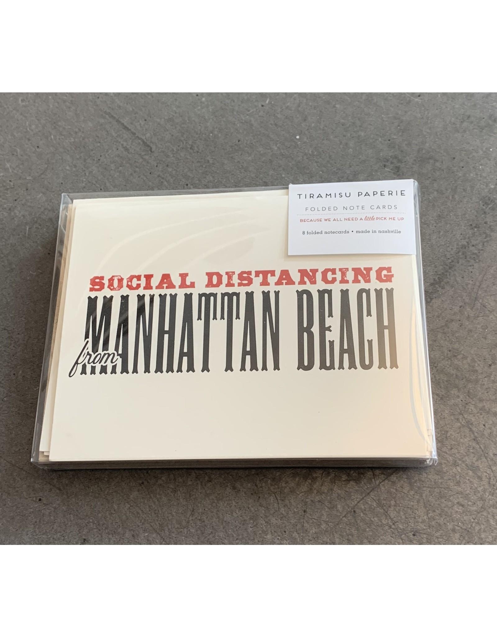 Tiramisu Social Distancing from Note Cards
