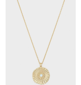 Gorjana Sunburst Necklace