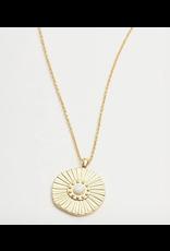 Gorjana Sunburst Necklace