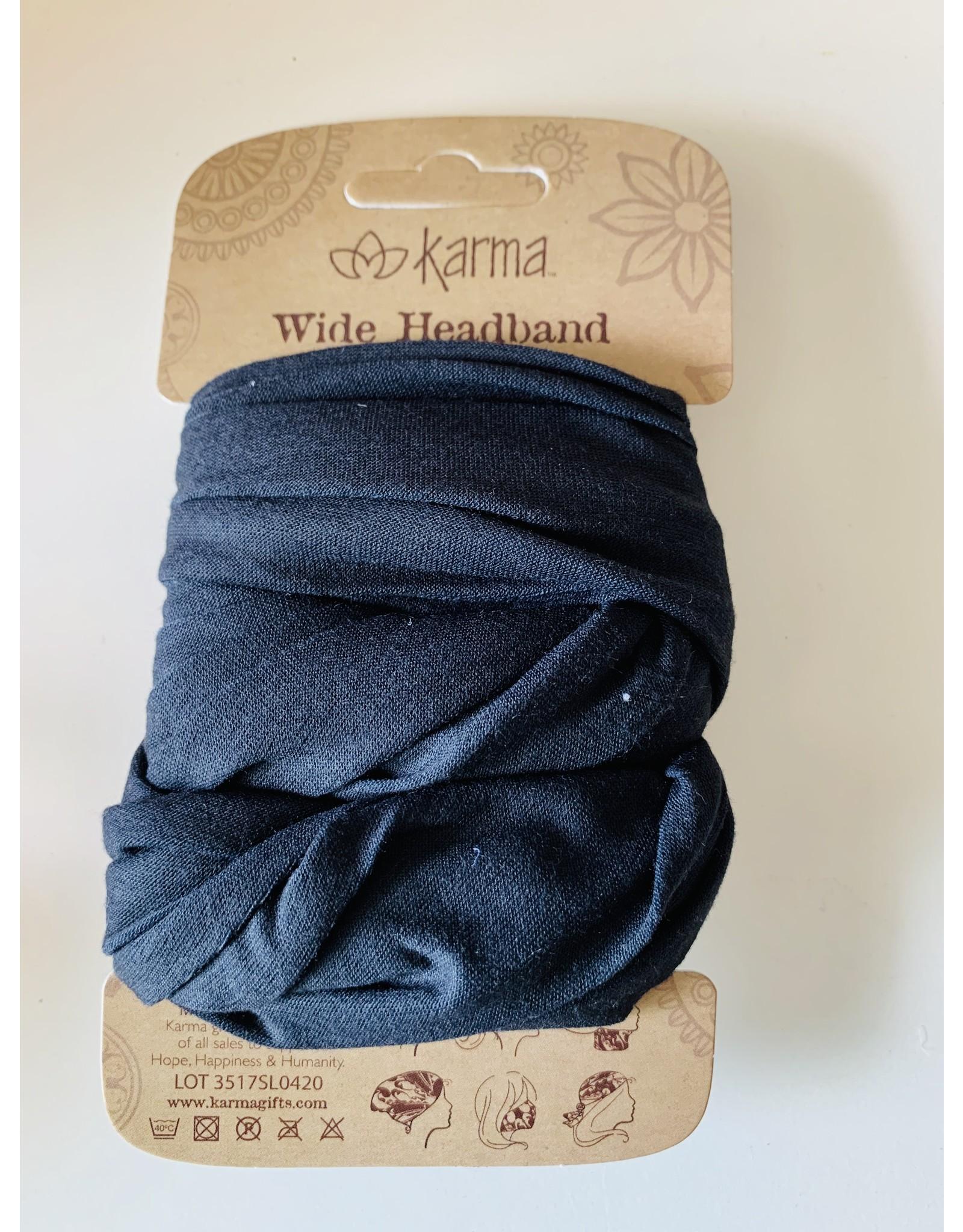 Kharma Wide Headbands