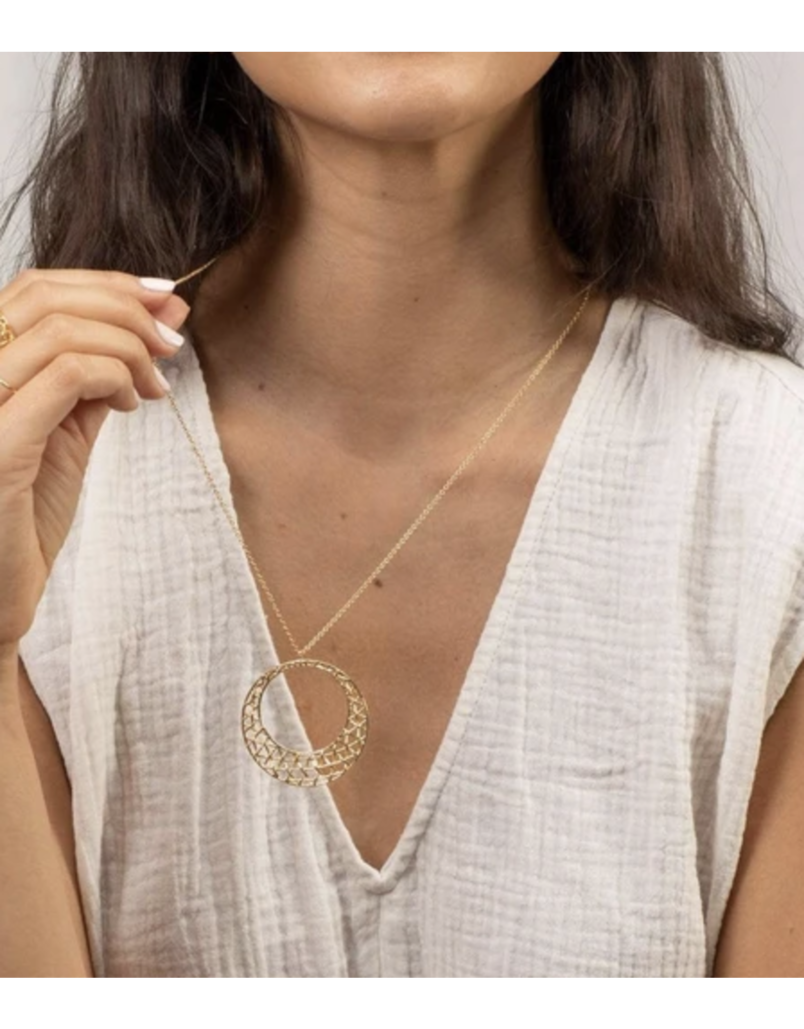 Gorjana Tulum Pendant Necklace
