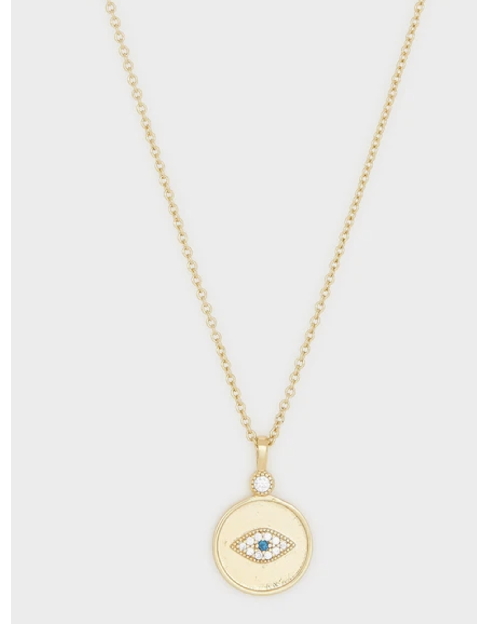 Gorjana Madison Evil Eye Necklace