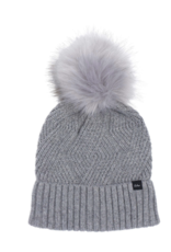 Echo Design Cable Knit Pom Pom Hat