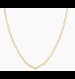 Gorjana Venice Chevron Necklace