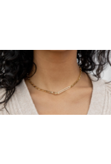 Gorjana Nico Link Necklace